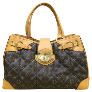 Louis Vuitton Quilted Lv Tote in Monogram