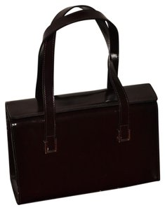 Enzo Angiolini Satchel in Dark brown