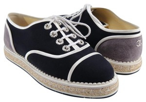 Chanel Espadrilles Oxford blue Athletic