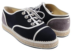 Chanel Espadrilles Oxford Colorblock Oxford 37.5 blue Athletic