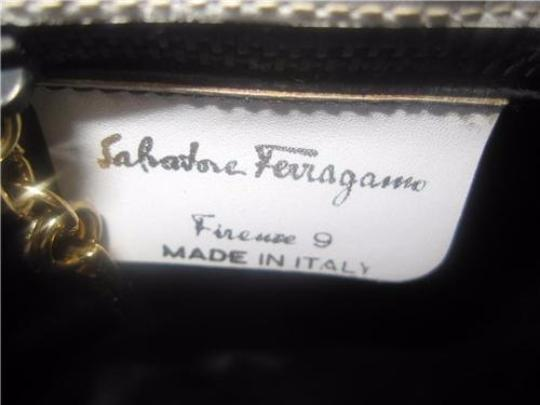 Salvatore Ferragamo Gold Hardware Dressy Or Casual Two-way Style Clutch/Cross Early Cross Body Bag Image 2