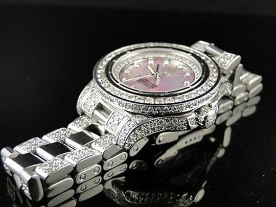 Breitling Ladies Breitling Aeromarine Pink Colt Ocean Diamond Watch Ct