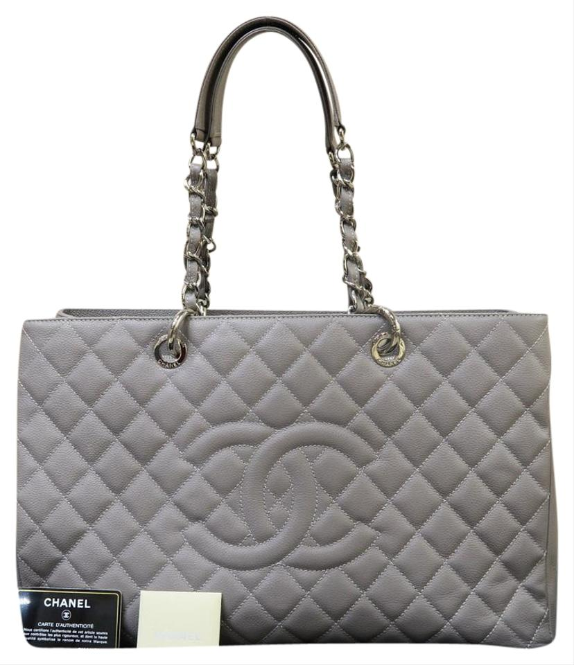 656e4060701af0 Chanel Shopping Tote XL Grand Shopping Tote(Gst) Grey Caviar ...