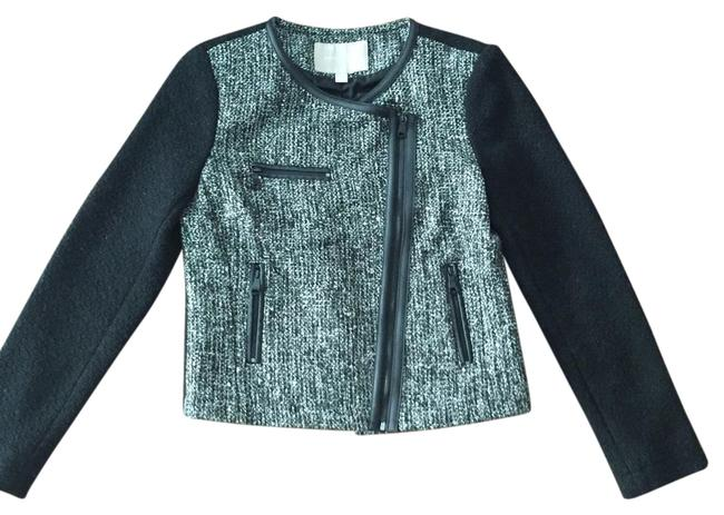Banana Republic Sparkle And White Night Out Black/Gray Blazer Image 0