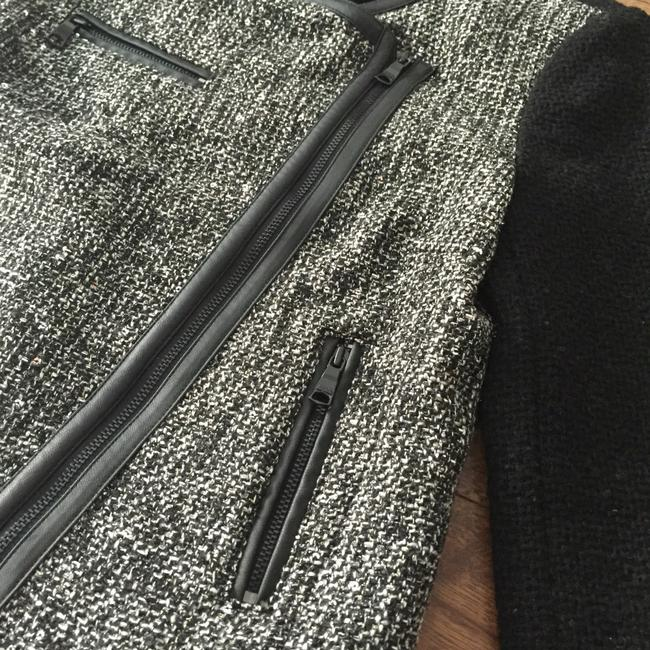 Banana Republic Sparkle And White Night Out Black/Gray Blazer Image 2