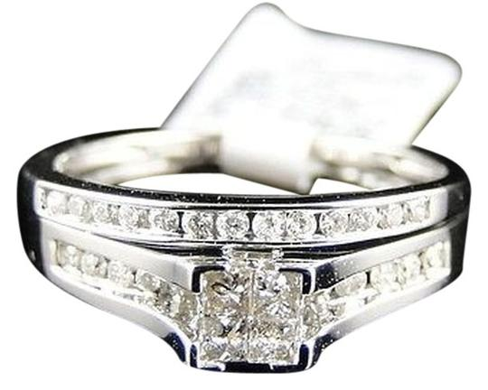 Other Mujeres,S,Blanco,Oro,Princesa,Cortar,Real,Diamante,De,Novia,Engagement,Anillo