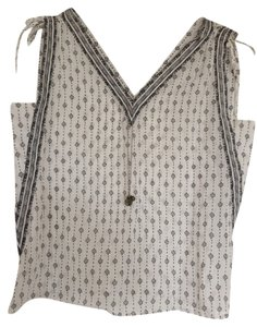 Ann Taylor LOFT Top White/Black