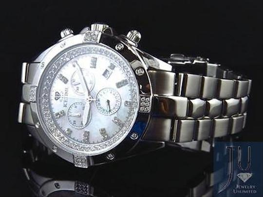Other Mens Mm Icetime Joe Rodeo Datejust Pearl Ambassador Real Diamond Watch 0.5 Ct
