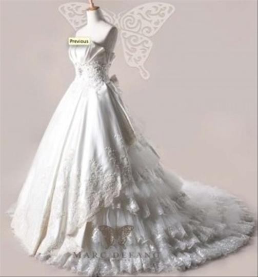 Haute Couture Wedding Gown: Royal Palace Vintage Style Haute Couture Wedding Dress