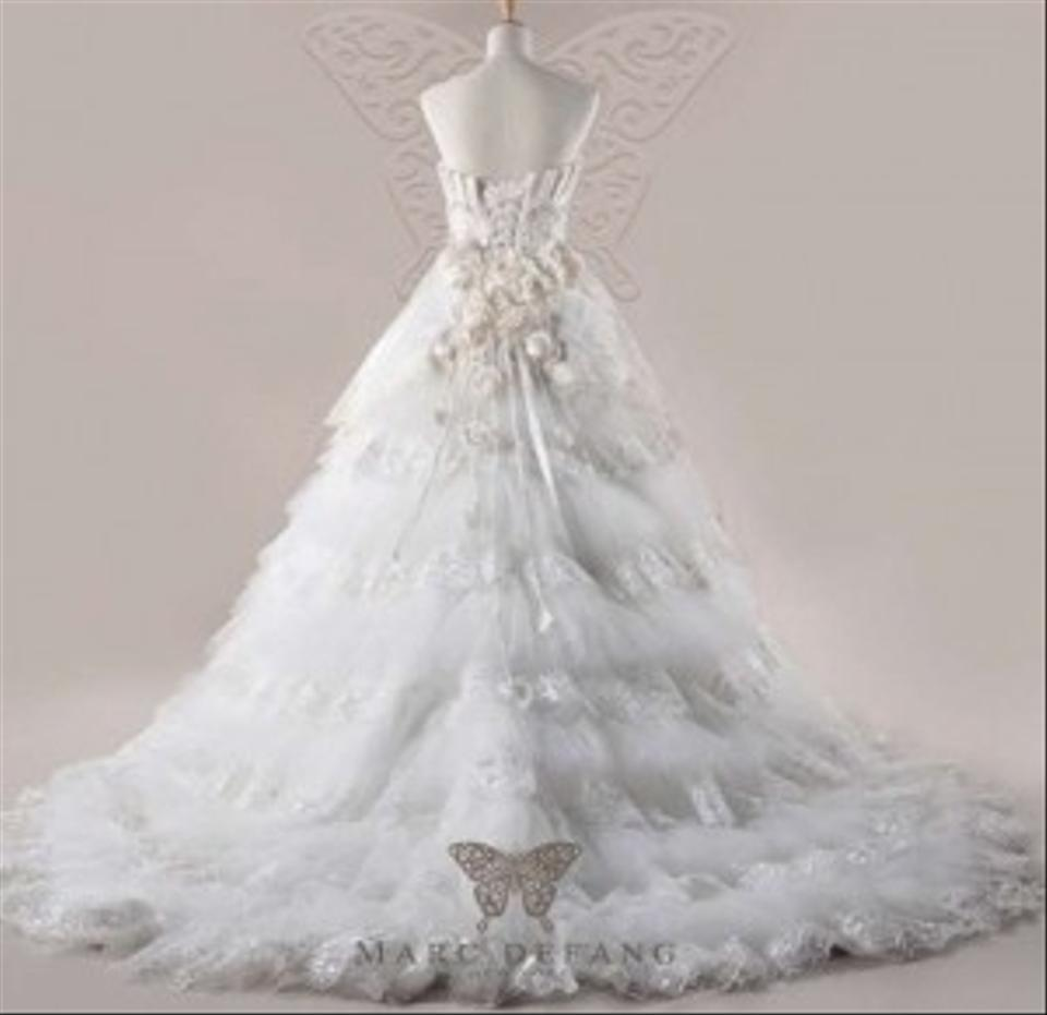 Royal Palace Vintage Style Haute Couture Wedding Dress