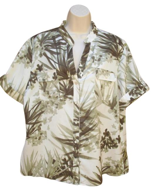 Preload https://img-static.tradesy.com/item/18784522/chico-s-green-cream-new-3-xl-satin-short-sleeve-palm-blouse-size-16-xl-plus-0x-0-1-650-650.jpg