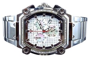 Mens Aqua Master Jojo Joe Rodeo Techno Genuine Diamond Watch 40mm .75ct