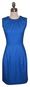 J.Crew Super 120's Keyhole Dress