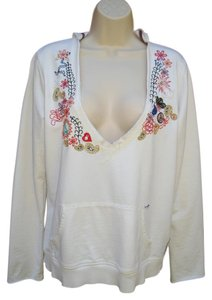 Lucky Brand Boho Embroidered Gypsy Sweatshirt