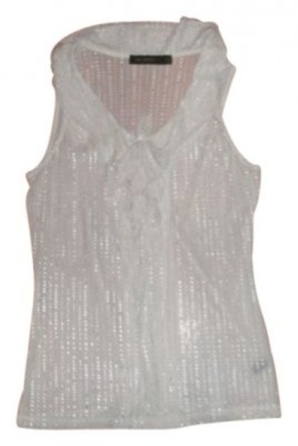 Preload https://img-static.tradesy.com/item/18785/the-limited-off-whitesilver-sleeveless-ruffled-blouse-size-6-s-0-0-650-650.jpg