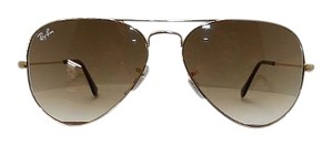 Ray-Ban Ray Ban RB 3025 Aviator Large Metal 001/51 Brown & Gold V2-20