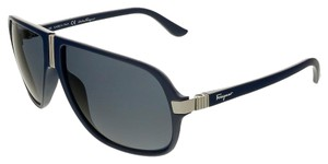 Salvatore Ferragamo Salvatore Ferragamo Blue Gradient Aviator