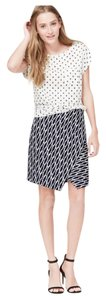 Ann Taylor LOFT Skirt Blue, White