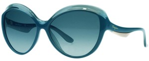 Salvatore Ferragamo Salvatore Ferragamo Blue Gradient Cateye Sunglasses