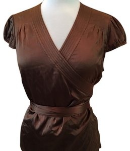 INC International Concepts Top Brown