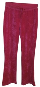 Lilly Pulitzer Velour Drawstring Waist Relaxed Pants pink