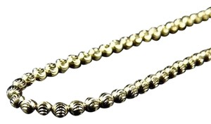 Jewelry Unlimited ,Hollow,10k,Yellow,Gold,Moon,Cut,Style,Link,Chain,Necklace,3mm,22-40,Inches