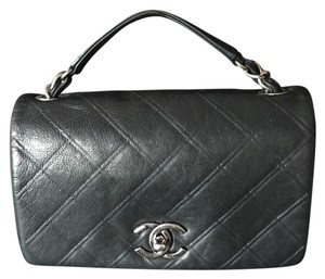 Chanel Lambskin Leather 2.55 Cross Body Bag