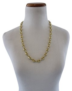 Jewelry Unlimited 10k Cast Yellow Gold Mariner Style Chain Necklace