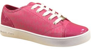 Michael Kors Sneakers Pink Logo City Fuschia Pink Athletic