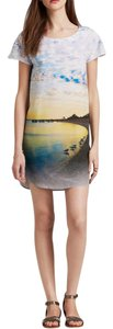Twelfth St. by Cynthia Vincent short dress Silk Shift Print Shift on Tradesy