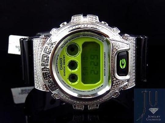 G-Shock Casio Mens G Shock 6900 Jojino Aqua Master Black And White Diamond Watch Ct