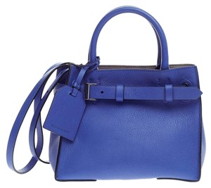 Reed Krakoff Red Leather Tote in Blue