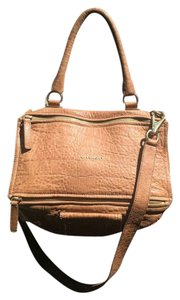 Givenchy Leather Pandora Satchel in Brown