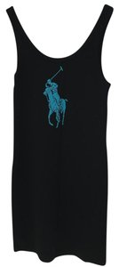 Ralph Lauren short dress Black Polo Pony Logo on Tradesy