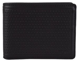 Tumi Tumi Men's Perforated Leather 019734 Bowery Double Billfold Wallet