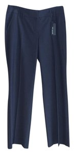 Express Flare Pants Navy Blue
