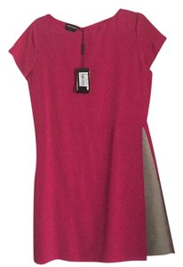 Emporio Armani short dress Hot pink on Tradesy
