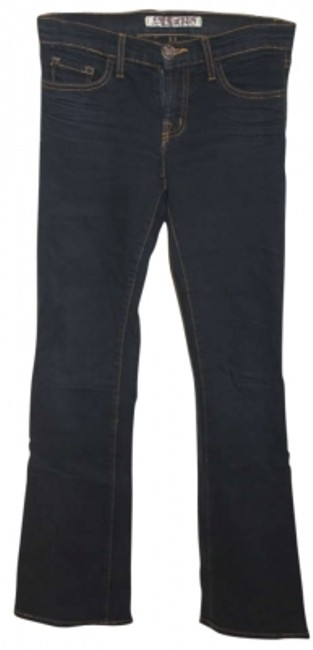 Preload https://item1.tradesy.com/images/j-brand-dark-rinse-boot-cut-jeans-size-26-2-xs-187890-0-0.jpg?width=400&height=650
