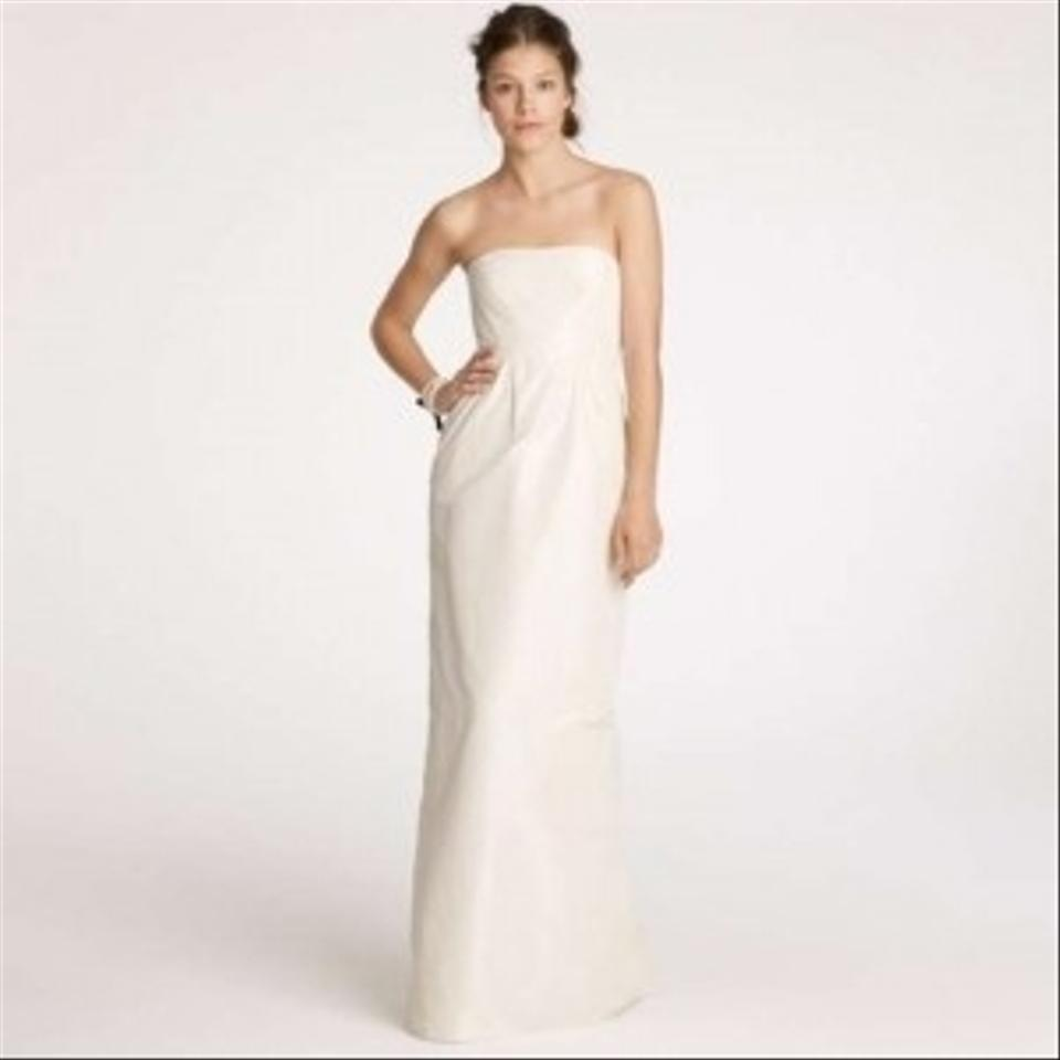 J crew clarice wedding dress tradesy weddings for J crew wedding dresses
