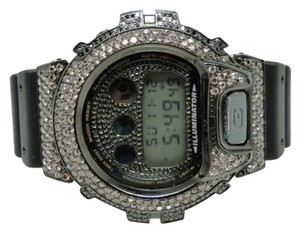 Casio Casio G Shock Mens 6900 Jojo Joe Rodeo Blackbrown Simulated Diamond Watch