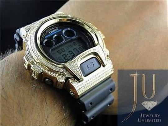 G-Shock Casio Mens G Shock 6900 Jojino Aqua Master Genuine White Diamond Watch Ct
