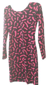 H&M short dress Pink/Black on Tradesy