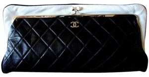 Chanel Black and white Clutch