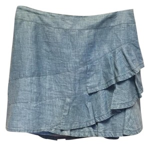 Nanette Lepore Mini Skirt Chambray
