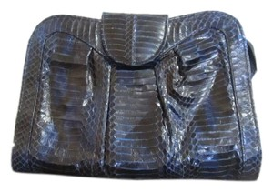 J. Renee Blue Clutch