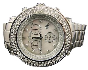 Joe Rodeo Mens Joe Rodeo Junior Jju116 Vs 6.75 Ct Mop Dial Row Bezel Diamond Watch