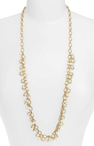 Tory Burch Tory Burch Katie Cluster Floral Rosary Necklace