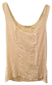 Pins and Needles Lace Sheer Top White