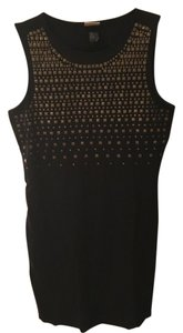 H&M Gold Metallic Stud Studded Dress