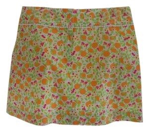 Lilly Pulitzer Skirt Orange, pink, green